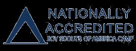 Nationally Accredited BSA Camp